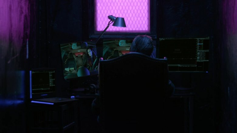 Alienware Laptop Used by Dolph Lundgren in Acceleration (2019)