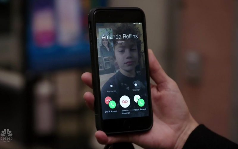 Apple FaceTime App in Law & Order Special Victims Unit Season 21 Episode 10 Must Be Held Accountable