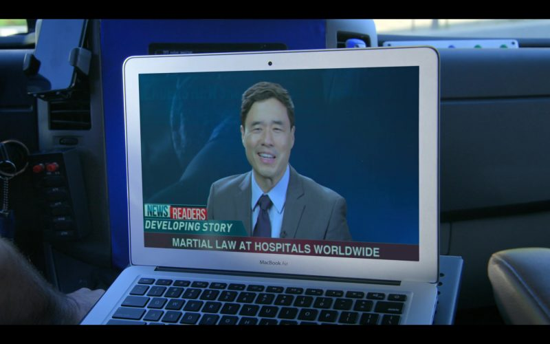 Apple MacBook Air Laptop in Medical Police Season 1 Episode 9 Real Heavy Hitter (1)