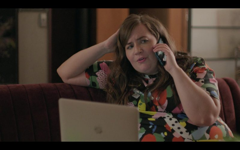 Apple MacBook Laptop Computer Used by Aidy Bryant as Annie Easton in Shrill Season 2 Episode 4 (2)