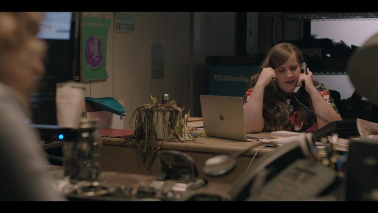 Apple MacBook Laptop Computer Used by Aidy Bryant as Annie Easton in Shrill Season 2 Episode 4 (3)