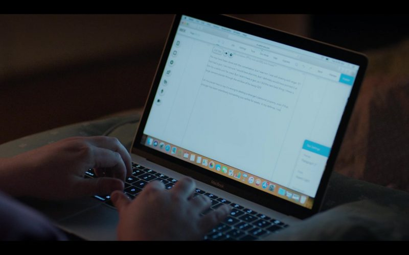 Apple MacBook Laptop Used by Aidy Bryant as Annie Easton in Shrill Season 2 Episode 2 (2020)