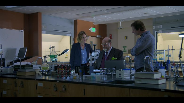 Apple MacBook Laptop Used by Erinn Hayes, Fred Melamed & Rob Huebel in Medical Police Season 1 Episode 3 Dumb Doggy (1)