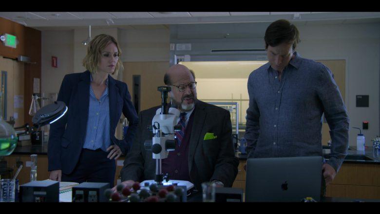 Apple MacBook Laptop Used by Erinn Hayes, Fred Melamed & Rob Huebel in Medical Police Season 1 Episode 3 Dumb Doggy (2)
