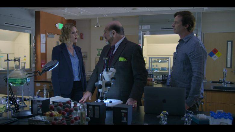 Apple MacBook Laptop Used by Erinn Hayes, Fred Melamed & Rob Huebel in Medical Police Season 1 Episode 3 Dumb Doggy (4)