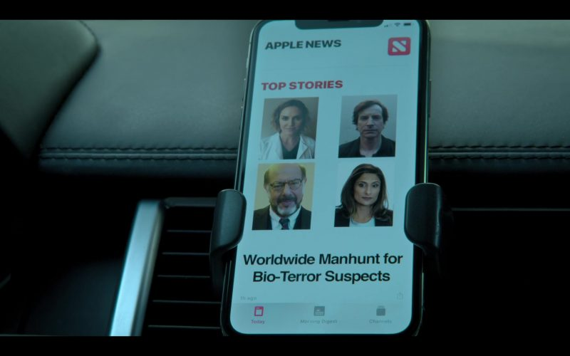 Apple News Application in Medical Police Season 1 Episode 8 Just the D (2020)