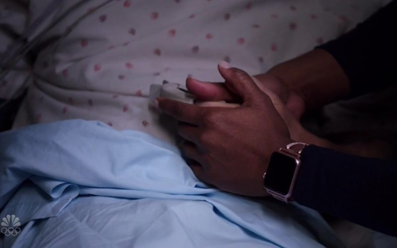 Apple Watch in Chicago Med Season 5 Episode 12 Leave the Choice to Solomon (2020)