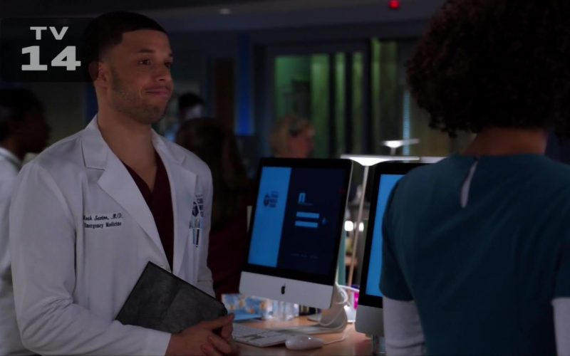 Apple iMac All-In-One Computers in Chicago Med Season 5 Episode 10 Guess It Doesn't Matter Anymore (1)