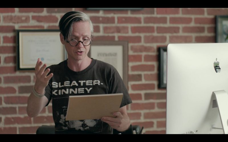 Apple iMac Computer Used by John Cameron Mitchell as Gabe Parrish in Shrill Season 2 Episode 4 (1)