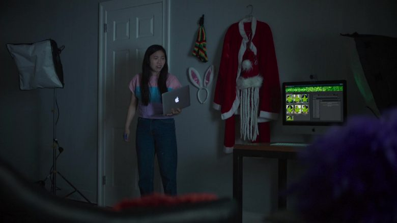 """Apple iMac and MacBook in Awkwafina Is Nora from Queens Season 1 Episode 1 """"Pilot"""" (2020) TV Show"""