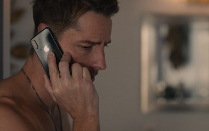 Apple iPhone Mobile Phone Used by Justin Hartley as Kevin Pearson in This Is Us Season 4 Episode 12 (2020)