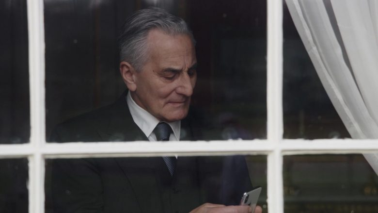 Apple iPhone Smartphone Used by Henry Goodman as Danny in The New Pope Season 1 Episode 3 (2020) TV Show