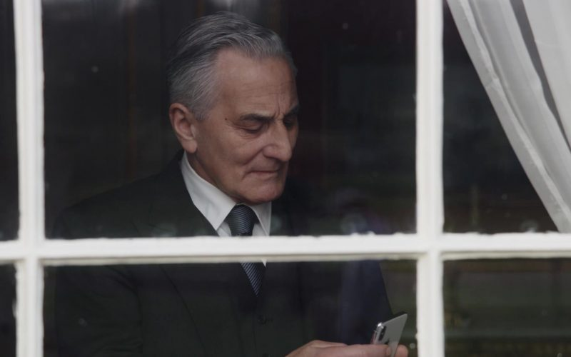 Apple iPhone Smartphone Used by Henry Goodman as Danny in The New Pope Season 1 Episode 3 (2020)