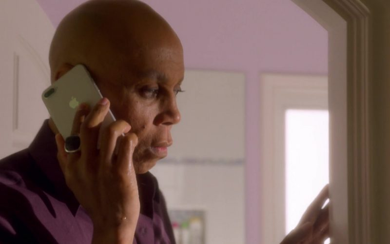 Apple iPhone Used by RuPaul Andre Charles as Ruby Red in AJ and the Queen Season 1 Episode 9 Fort Worth (4)