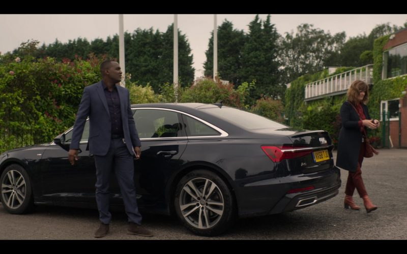Audi A6 Black Car in The Stranger Episode 7 (2020)