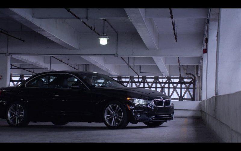 BMW 4 Series Convertible Black Car Driven by Michelle Monaghan as Eva Geller in Messiah Season 1 Episode 1 He That Hath an Ear (1)