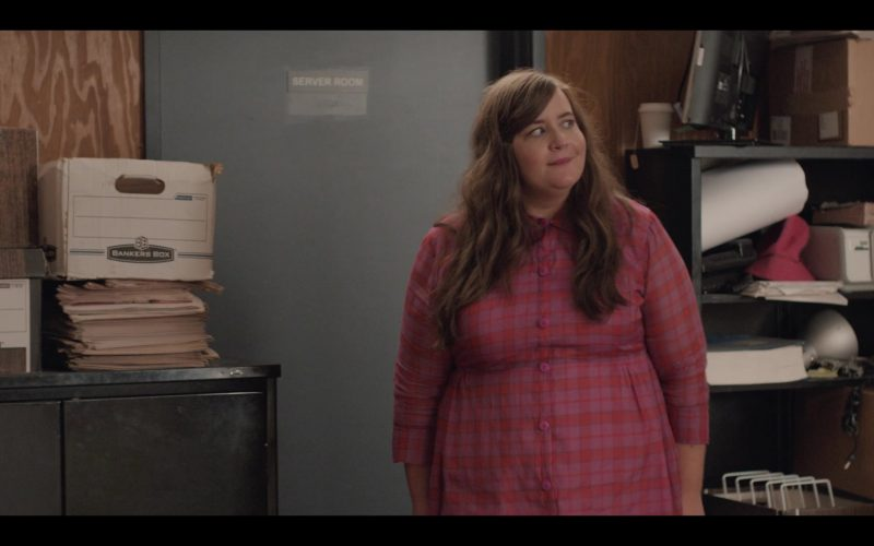 Bankers Boxes in Shrill Season 2 Episode 7 (2020)