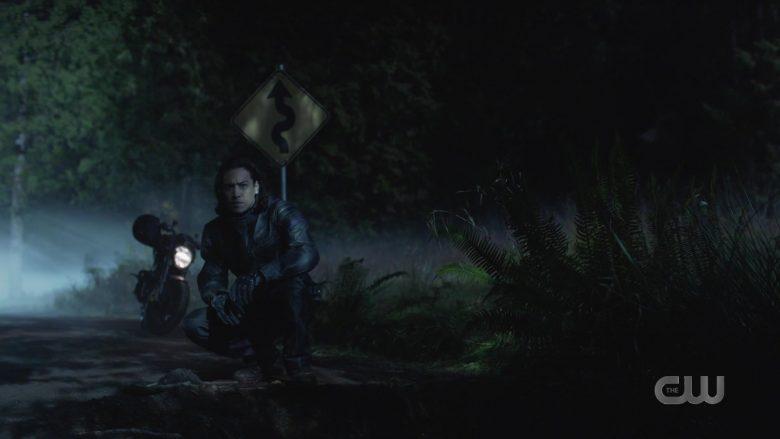 Bilt Leather Moto Jacket Worn by Jesse Rath as Querl 'Brainy' Dox Brainiac 5 in Supergirl Season 5 Episode 11 (1)