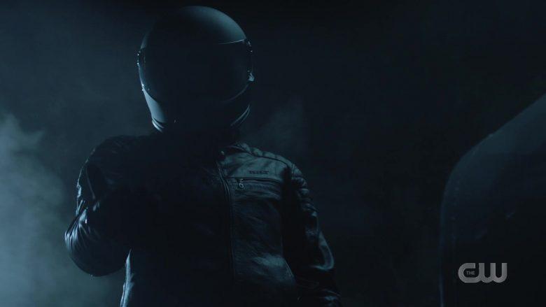 Bilt Leather Moto Jacket Worn by Jesse Rath as Querl 'Brainy' Dox Brainiac 5 in Supergirl Season 5 Episode 11 (2)