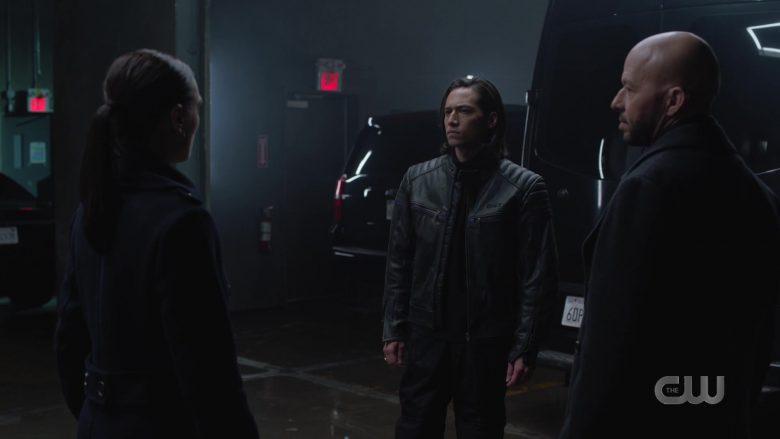 Bilt Leather Moto Jacket Worn by Jesse Rath as Querl 'Brainy' Dox Brainiac 5 in Supergirl Season 5 Episode 11 (3)