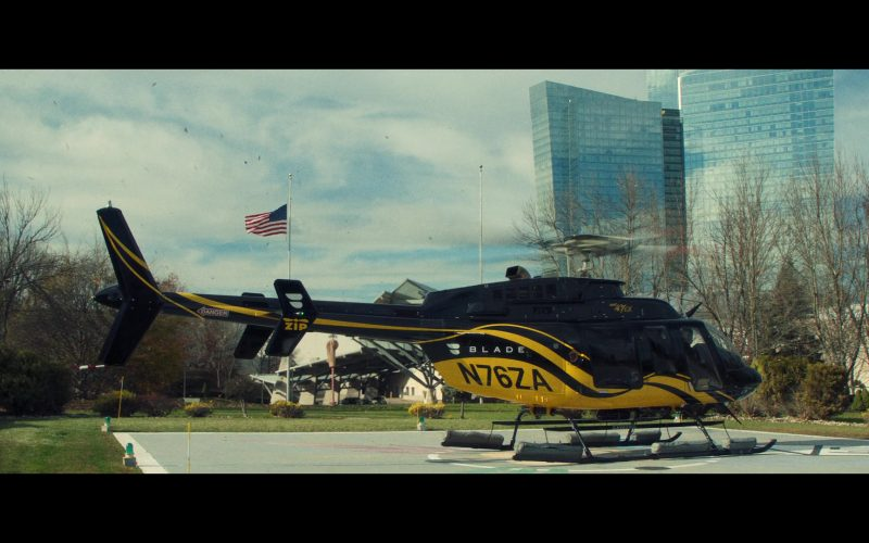 Blade Helicopter, flyblade.com in Uncut Gems (2019)
