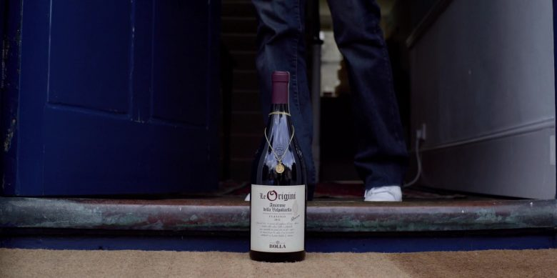 Bolla Le Origini Amarone della Valpolicella Wine Bottle in Last Christmas (2019)