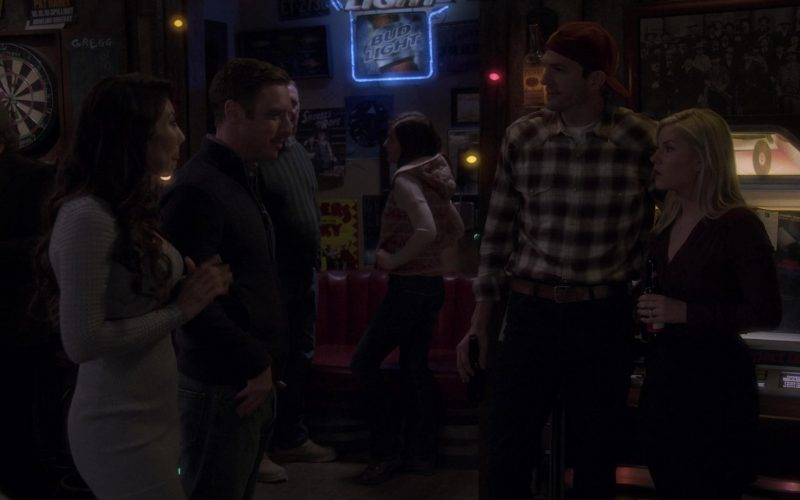 Bud Light Beer Sign in The Ranch Season 4 Episode 20