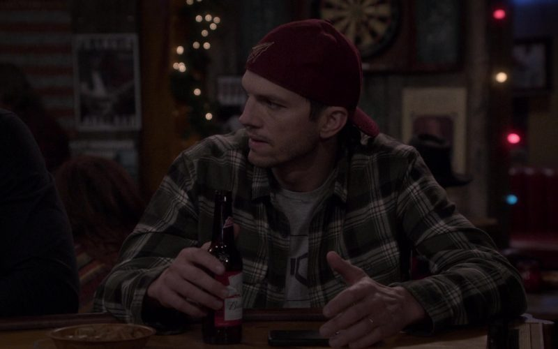 Budweiser Beer Enjoyed by Ashton Kutcher as Colt Reagan Bennett in The Ranch Season 4 Episode 20 (1)