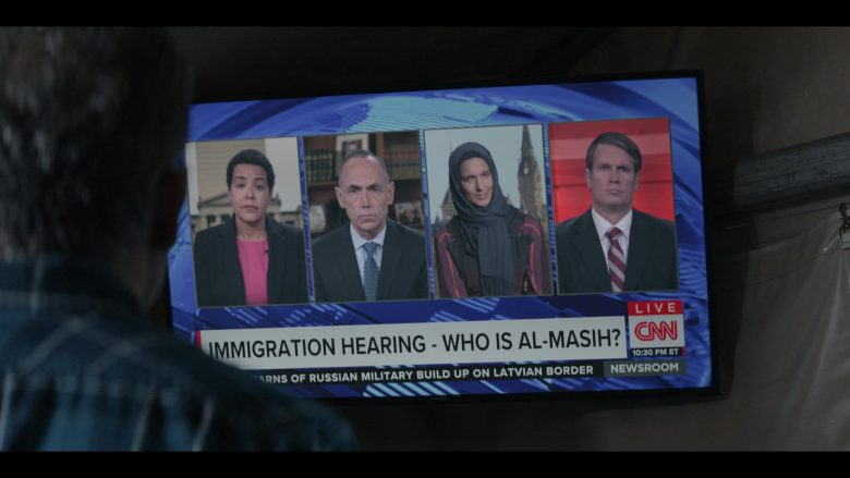 CNN Television Channel in Messiah Season 1 Episode 3 The Finger of God (1)