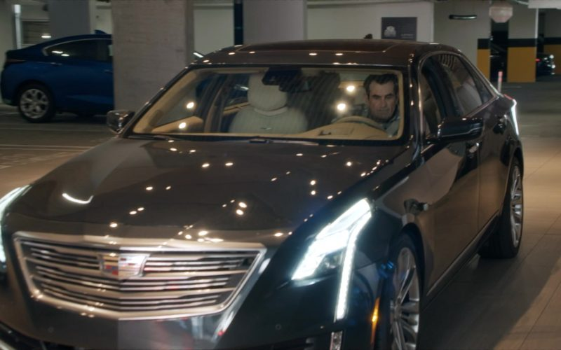 Cadillac Car Driven by Ty Burrell as Phil Dunphy in Modern Family Season 11 Episode 10 The Prescott (3)