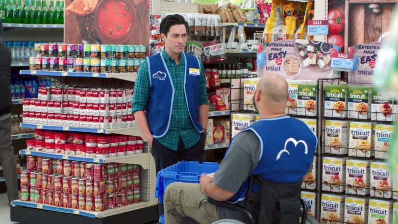 Campbell's and Triscuit in Superstore Season 5 Episode 13 Favoritism (2020)