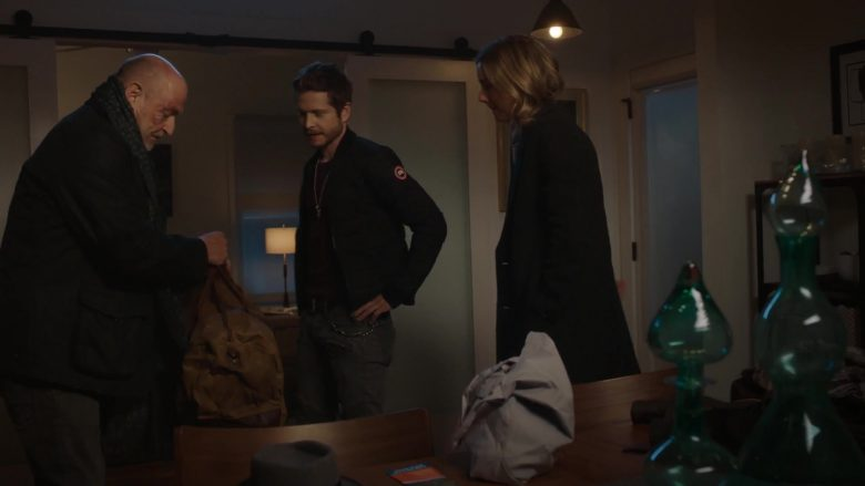 Canada Goose Bomber Jacket Worn by Matt Czuchry as Conrad Hawkins in The Resident Season 3 Episode 13 (2)