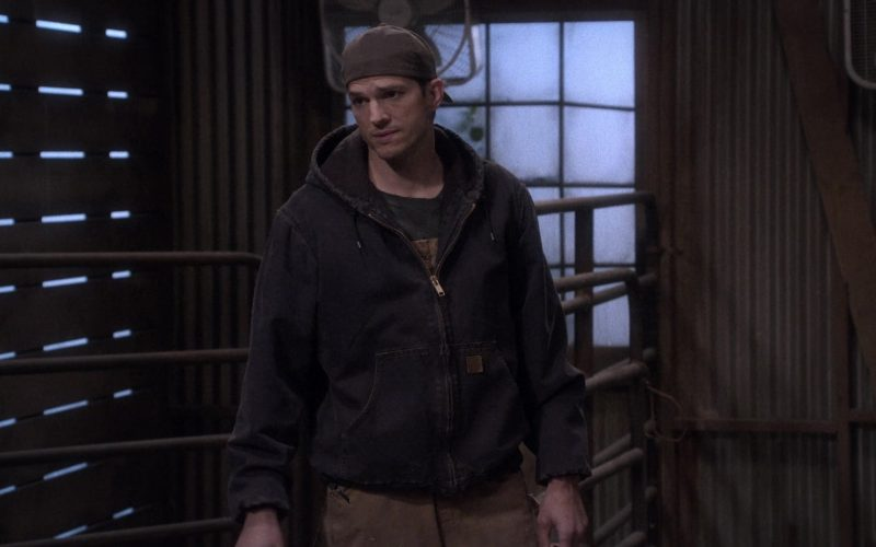 Carhartt Hooded Jacket Worn by Christopher Ashton Kutcher as Colt Reagan Bennett in The Ranch Season 4 Episode 19 (1)