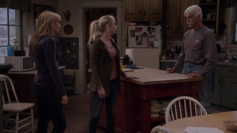 Carhartt Long Sleeve T-Shirt Worn by Sam Elliott as Beau Roosevelt Bennett in The Ranch Season 4 Episode 18 (3)