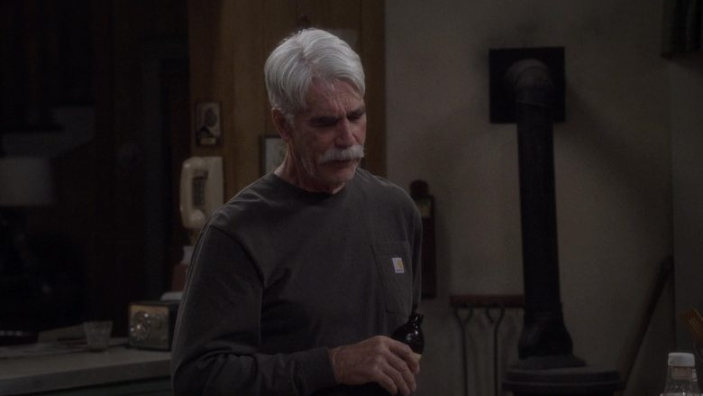 Carhartt T-Shirt Worn by Sam Elliott as Beau Roosevelt Bennett in The Ranch Season 4 Episode 16 (1)