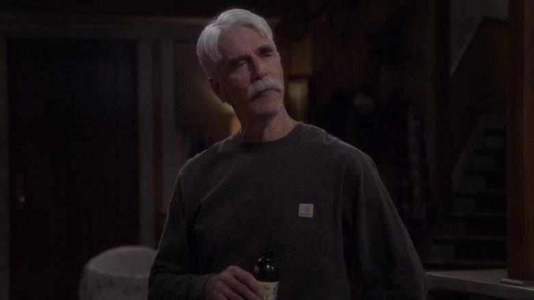 Carhartt T-Shirt Worn by Sam Elliott as Beau Roosevelt Bennett in The Ranch Season 4 Episode 16 (2)