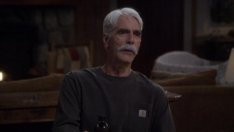 Carhartt T-Shirt Worn by Sam Elliott as Beau Roosevelt Bennett in The Ranch Season 4 Episode 16 (3)