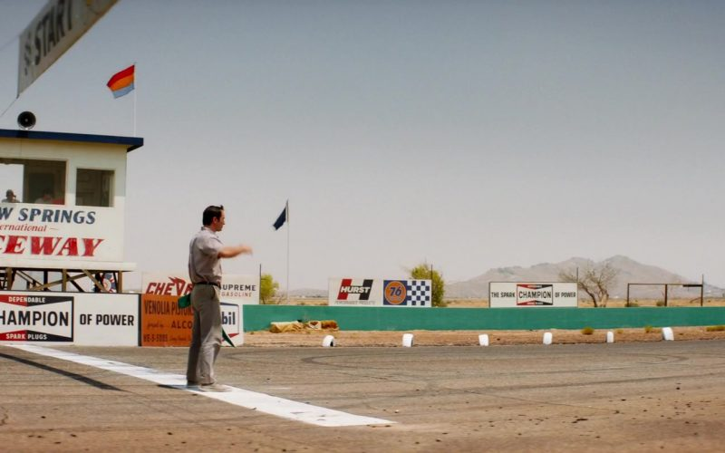 Champion Auto Parts in Ford v Ferrari (2019)