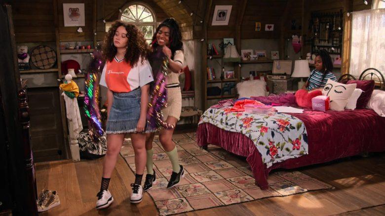 Champion Tee Worn by Talia Jackson as Jade McKellan in Family Reunion Season 1 Episode 20 (1)