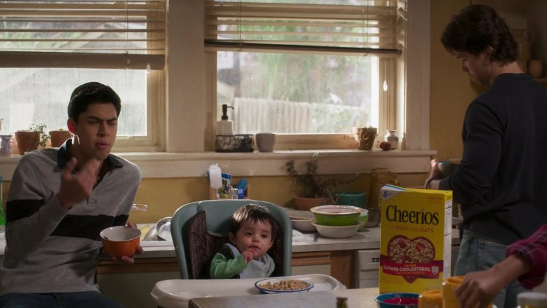 Cheerios Cereal in Party of Five Season 1 Episode 3 Long Distance (2)