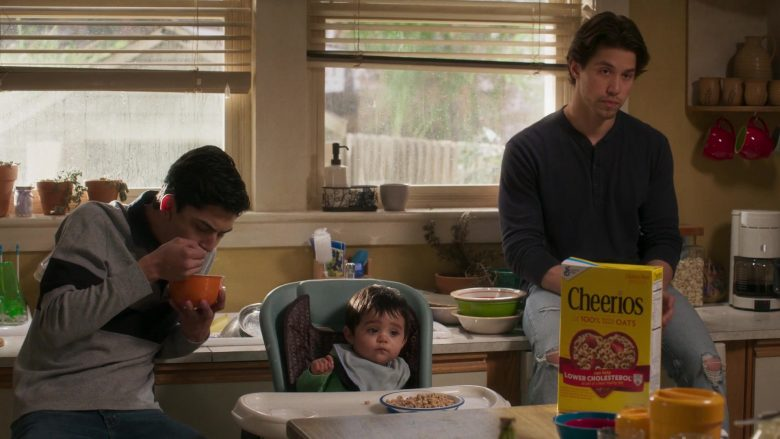 Cheerios Cereal in Party of Five Season 1 Episode 3 Long Distance (4)