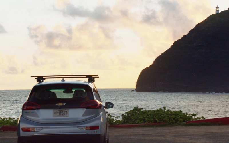Chevrolet Bolt EV Car Driven by Meaghan Rath as Officer Tani Rey in Hawaii Five-0 Season 10 Episode 12 (1)
