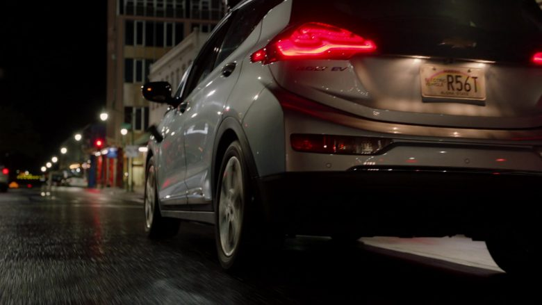 Chevrolet Bolt EV Car in Magnum P.I. Season 2 Episode 12 Desperate Measures (3)