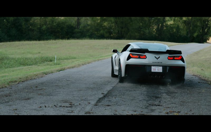 Chevrolet Corvette Grey Sports Car in Tell Me a Story Season 2 Episode 6 Lost and Found (2020)