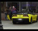 Chevrolet Corvette Yellow Sports Car in Spenser Confidential (4)