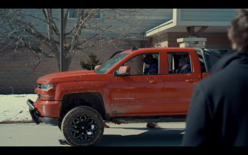 Chevrolet Silverado Pickup Truck in Spinning Out Season 1 Episode 6 Have a Nice Day! (2)