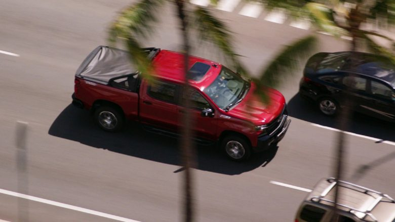 Chevrolet Silverado Silverado 1500 LT Z71 Red Pickup Truck in Hawaii Five-0 Season 10 Episode 12 (1)