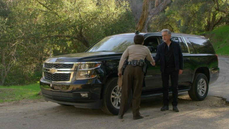 Chevrolet Suburban Car Driven by David Rossi as Joe Mantegna in Criminal Minds Season 15 Episode 1 Under the Skin (2)
