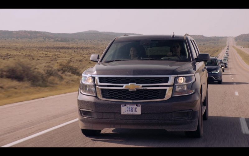 Chevrolet Tahoe SUV in Messiah Season 1 Episode 6 We Will Not All Sleep