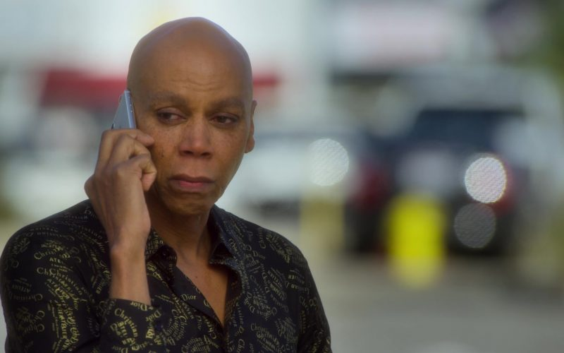 Christian Dior Shirt Worn by RuPaul Andre Charles as Ruby Red in AJ and the Queen Season 1 Episode 7 (3)